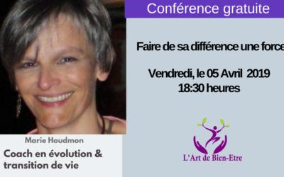 Conférence : Faire de sa différence une force
