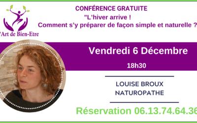 Conférence sur la Naturopathie