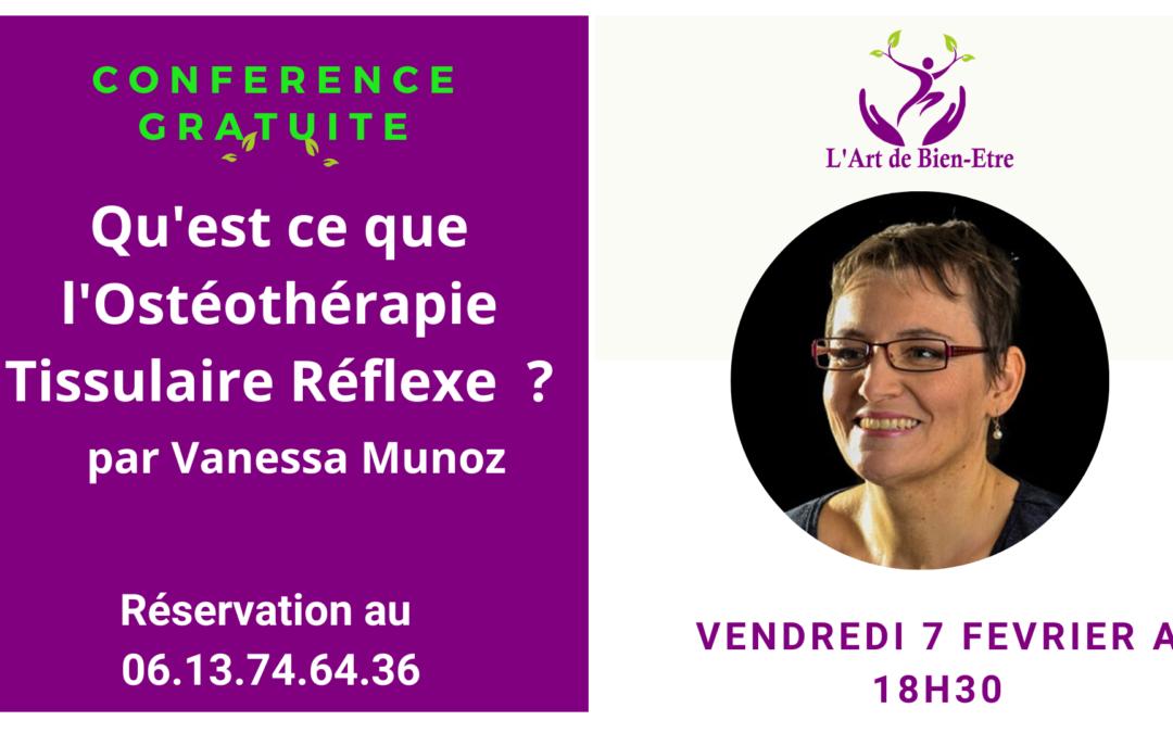 Conférence Gratuite sur l'Ostéothérapie Tissulaire Réflexe